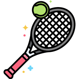 Tennis Ball and Racket icon