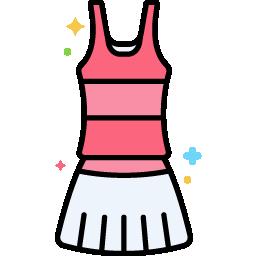 Tennis Clothes Female icon